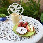 Breakfast in My Garden Patio…