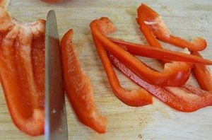 SliceBellPeppers