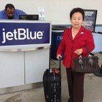 My Mom Arrives…