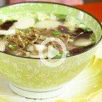 New Year's Korean Rice Cake Soup!