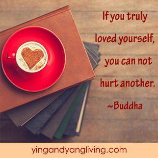 Heart Coffee on Books - BuddhaYY