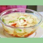 "Water ""Mool"" Kimchi with Asian Turnip"