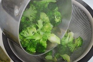 Drain-Brocoli-Water