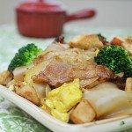 Thai Pad See Ew Noodles with Chicken and Broccoli