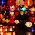 Decorate Christmas with Chinese Lanterns