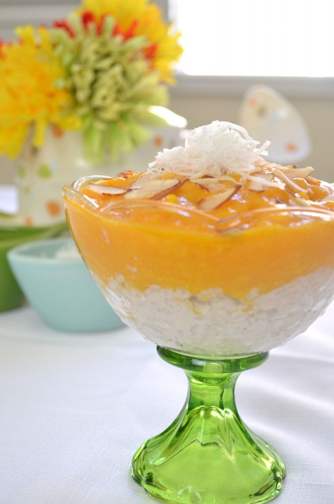 Thai Coconut Tapioca Pudding With Cayenne-Spiced Mango Recipes ...